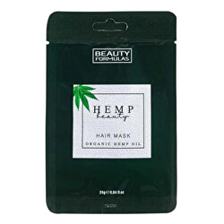 Maska na vlasy s konopím Hemp Beauty (Hair Mask Organic Hemp Oil) 24 g