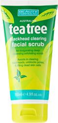 Pleťový peeling Tea Tree (Blackhead Clearing Facial Scrub) 150 ml
