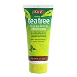 Šampon na vlasy Tea Tree (Deep Cleansing Shampoo) 200 ml