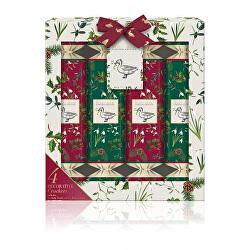 Set cadou de Crăciun pentru îngrijirea corpului Crackers Winter Wonderland 4 buc.