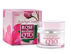 Anti-age krém s koenzýmom Q10 a ružovou vodou Rose Of Bulgaria ( Anti Age Cream) 50 ml