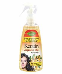 Bezoplachový kondicionér Keratin + Arganový olej s panthenolem 260 ml