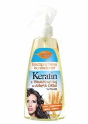 Bezoplachový kondicionér Keratin + Vitamínový olej z obilných klíčků 260 ml