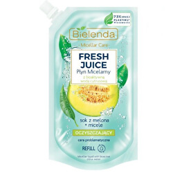 Micelární voda citron a meloun Fresh Juice - náhradní náplň (Liquid Micellar) 500 ml