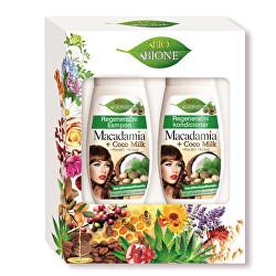 Dárková sada vlasové péče Macadamia + Coco Milk