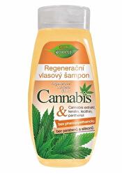 Regeneračný výživný šampón Cannabis 400 ml
