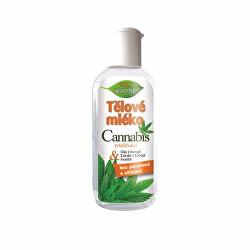 Zvláčňujúce telové mlieko Cannabis 80 ml