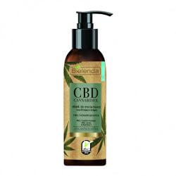 Čisticí olej pro suchou a citlivou pleť CBD Cannabidiol (Face Cleansing Oil For Dry & Sensitive Skin) 140 ml