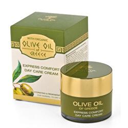 Denný výživný krém s olivovým olejom pre normálnu až suchú pleť (Express Comfort Day Care Cream) 50 ml