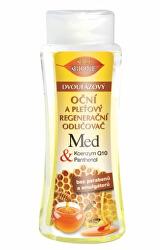 Dvojfázový očné a pleťový regeneračný odličovač Med + Q10 255 ml