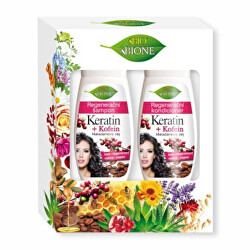 Set cosmetic BIO Keratin + Kofein