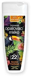 Ochranné opalovací mléko SPF 22 (Sun Milk SPF 22) 200 ml