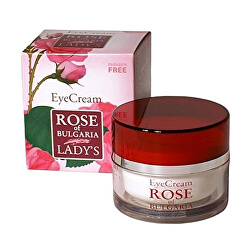 Oční krém s růžovou vodou Rose Of Bulgaria (Eye Cream) 25 ml
