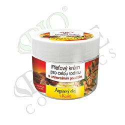 Pleťový krém pro celou rodinu Arganový olej + Karité 260 ml