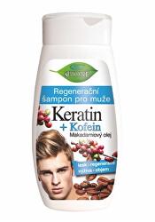 Regenerační šampon pro muže Keratin + Kofein 260 ml