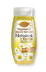 Regeneráló haj sampon Kamilla + Keratin 260 ml