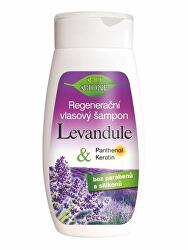 Regenerační vlasový šampon Levandule 260 ml