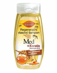 Regenerační vlasový šampon Med + Q10 260 ml