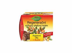 Regenerační výživný pleťový krém Arganový olej + Karité 51 ml