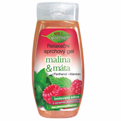 Relaxační sprchový gel Malina & Máta 260 ml
