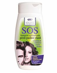 SOS šampon s přísadami proti padání vlasů 260 ml