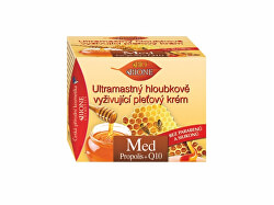 Ultramastný hloubkově vyživující pleťový krém Med + Q10 51 ml