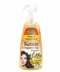 Vlasová regenerace Keratin + Arganový olej s panthenolem 260 ml