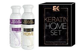 Kosmetická sada vlasové péče Keratin Home Set