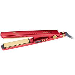 Žehlička na vlasy BaByliss Pro Titanium-Ionic červená