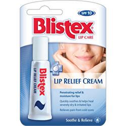 Balzám na suché a popraskané rty (Lip Relief Cream) 6 ml