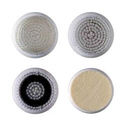 Náhradná sada 4 hlavíc pre sonické vibračné kefka na čistenie a revitalizáciu pleti 5097 (Refill Kit 5124)