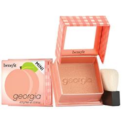 Pudrová tvářenka Georgia (Golden Peach Blush Mini) 4 g