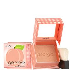 Pudrová tvářenka Georgia (Golden Peach Blush) 8 g