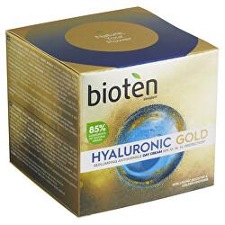 Vyplňující denní krém proti vráskám Hyaluronic Gold SPF 10 (Replumping Antiwrinkle Day Cream) 50 ml