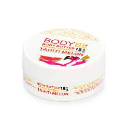 Opalovací máslo se třpytivým efektem Tahiti Meloun SPF 15 (Body Butter Tanning Shimmer) 150 ml