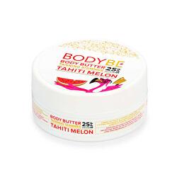 Opalovací máslo se třpytivým efektem Tahiti Meloun SPF 25 (Body Butter Tanning Shimmer) 150 ml