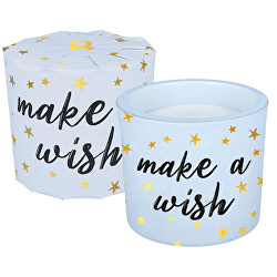 Illatgyertya üvegben Make a Wish