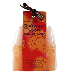 Sprchové masážní mýdlo s houbičkou Mandarinkové sny (Shower Soap) 140 g