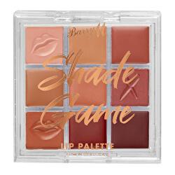 Paletka kompaktních rtěnek Shade Game (Lip Palette) 0,42 g