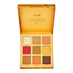 Paletka očních stínů Sweet Caramel (Eyeshadow Palette) 9 x 1 g