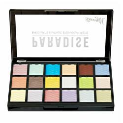 Paletka zapečených očních stínů Paradise Baked (Eyeshadow Palette) 18 x 0,9 g