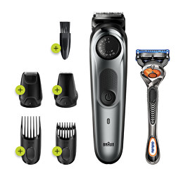 Zastřihovač vlasů a vousů BT7220 Metallic Grey