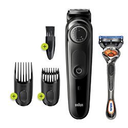 Zastřihovač vousů a vlasů BT5242 Grey