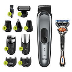 Zastřihovač vousů, vlasů a chloupků MGK 7221 Metallic Grey