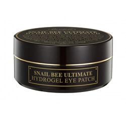 Hydrogelová maska na oční okolí Snail Bee (Ultimate Hydrogel Eye Patch) 60 ks