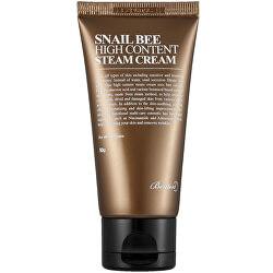Hydratační a vyživující pleťový krém se šnečím extraktem Snail Bee (High Content Steam Cream) 50 g