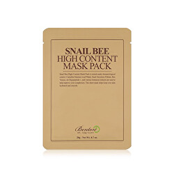 Regenerační pleťová maska Snail Bee (High Content Mask Pack) 10 ks