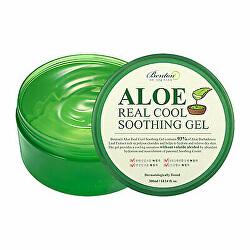 Zklidňující gel pro suchou pokožku Aloe Real Cool (Soothing Gel) 300 ml