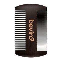 Hřeben na vousy z hruškového dřeva (Beard Comb)