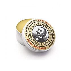 Ceară pentru mustată Ricki Hall Booze & Baccy (Moustache Wax) 15 ml